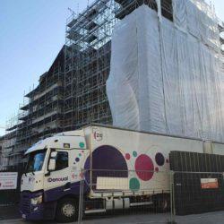 Livraison à la Chapelle Saint Yves en rénovation à Vannes