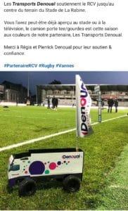 Partenaire du RCV – Rugby Club de Vannes
