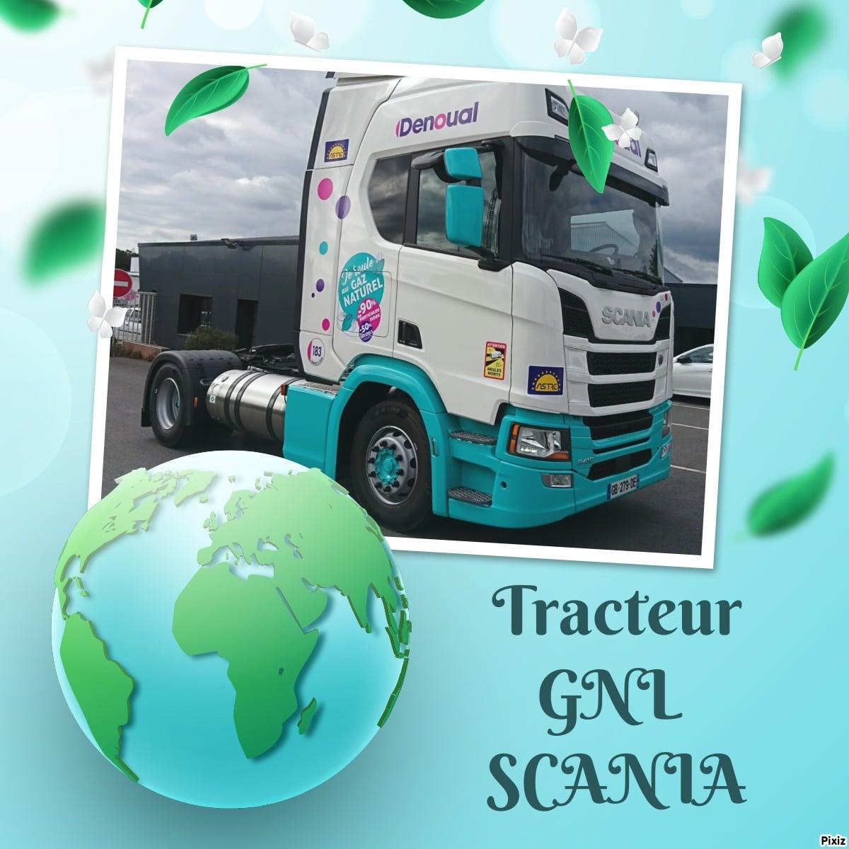Nouveaux tracteurs au gaz liquéfié GNL